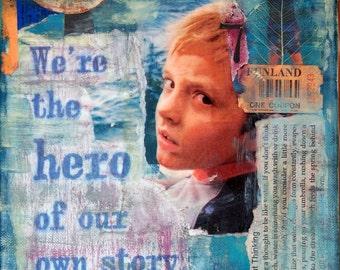 Hero - 8 by 10 Inch Art Print