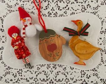 Vintage Lot Christmas Tree Ornaments