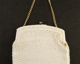 Vintage Woven Purse by Walborg