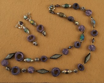 Fabulous Alice Caviness Necklace and Earring Set