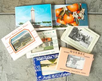 Vintage Lot of Mini Photo Souvenir Sets