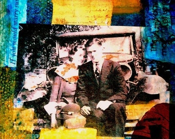 Young Love - 8 by 10 inch Print