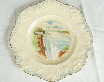 Vintage Prospect Point Niagara Falls Souvenir Plate by Ducal