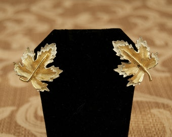 Signed Sarah Coventry Clip Earrings