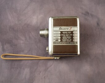 1952 Revere 40 8 mm Movie Camera