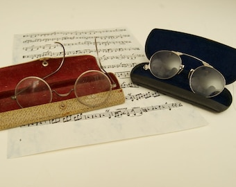 Lot of Antique Spectacles Pince Nez