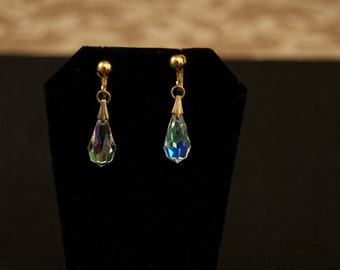 Vintage Screw Back Drop Earrings