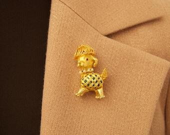 Vintage Doggie Brooch Pin