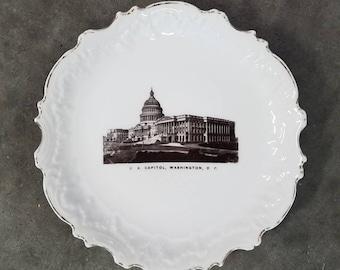 US Capitol - Souvenir Plate