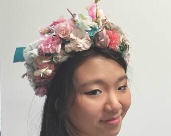 Christine Original Floral Fantasy Hat