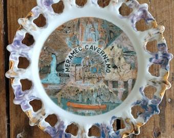 Commemorative Meramec Caverns Montana Plate (19B)