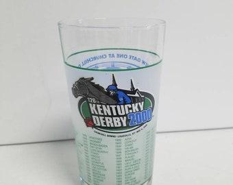 Official 126th Kentucky Derby Glass (2000)