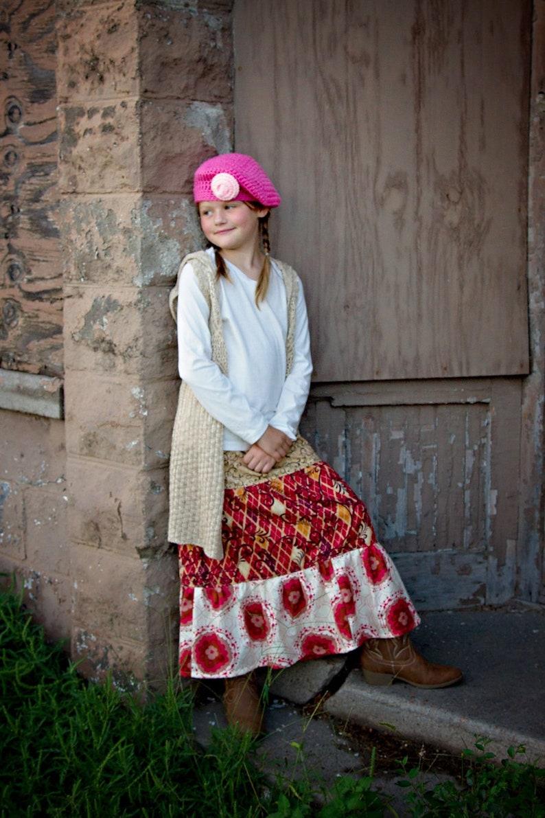 1905f5d907 Girl s Maxi skirt maxi skirt for girls Maxi skirt