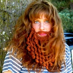 PDF Crochet Pattern  Pirate Beard/ Bearded Lady pattern for child/adult sizes INSTANT DOWNLOAD
