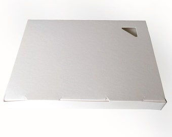White A2 Greeting Card Boxes --Stationery Maker Supply