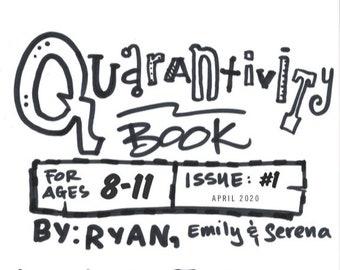 Quarantivity book #1 (Activity book for kids ages 8-11) - Fundraiser