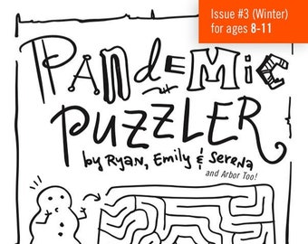 Pandemic Puzzler #3 (ages 8-11: an Activity Book) - Fundraiser
