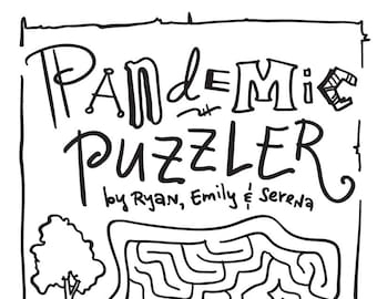 Pandemic Puzzler #2 (ages 4-7: an Activity Book) - Fundraiser