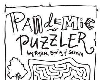 Pandemic Puzzler #2 (ages 8-11: an Activity Book) - Fundraiser