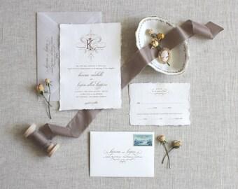 Custom Wedding Invitations and Stationery von JenSimpsonDesign