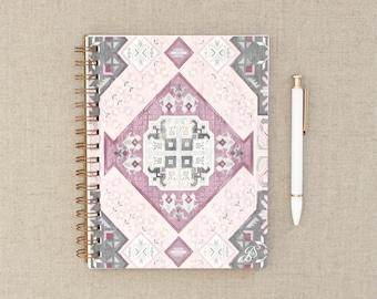 Maisey Journal // Gratitude Journal, Pattern Notebook, Journal, Boho Journal, Anxiety Journal, Therapy Journal, Lined Journal, Notebook
