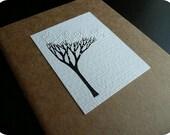 Moleskine Journal - Original Design - Winter Tree