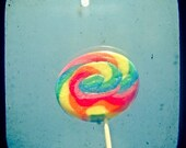I Can Taste a Rainbow 8 x 8 Print