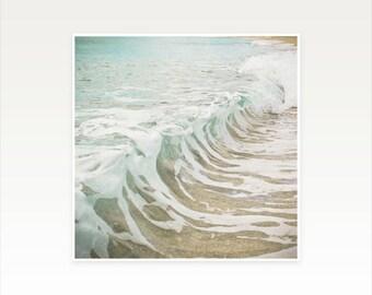 3f90fa7c Ocean Print, Sea Wall Art - Sea Foam