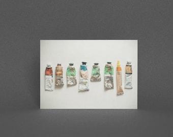 Card for Artist - Oil Paints