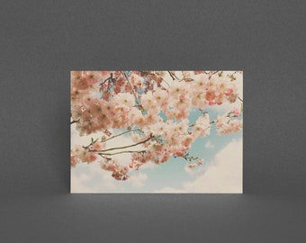 Blossom Greeting Card, Flower Card - Floral Canopy