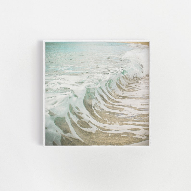 Beach Decor Ocean Art Coastal Decor Large Wall Art  Sea image 0