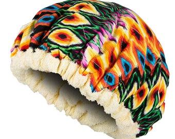 Hot Head Deep Conditioning Microwavable Heat Cap - VIBRANT Reversible Hot Head