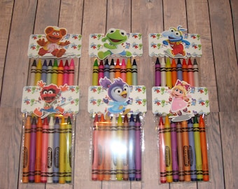 Muppet Babies (2018) Made To Order Crayon Favor Bags