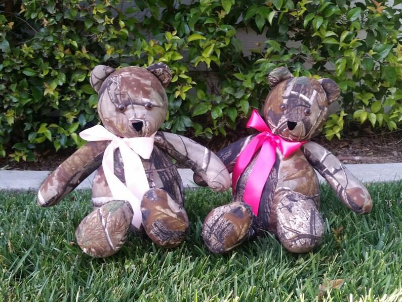 Real Tree Camo Teddy Bear image 0
