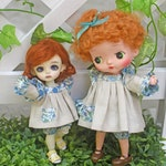 Patterns and English Instructions of Babydoll dress and Pumpkin Pants