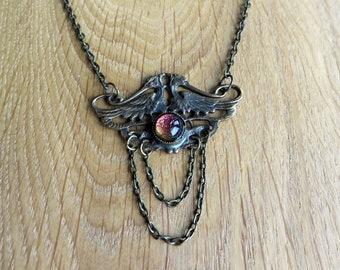 Mythical Bird Necklace