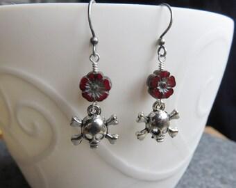 Skull & Crossbone Earrings