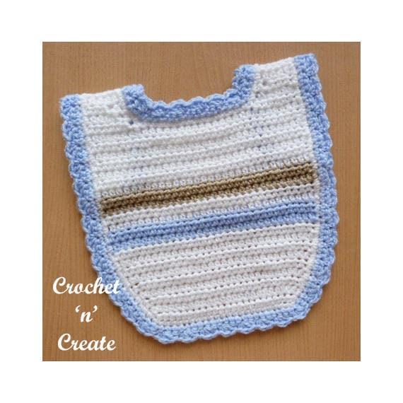 Baby Bib Crochet Pattern Download Cnc79 Etsy