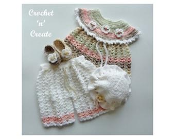 Crochet Angel Top Set  Crochet Pattern (DOWNLOAD) CNC281