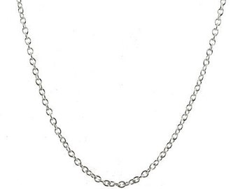 24 inch Rolo Chain 2mm Sterling Silver