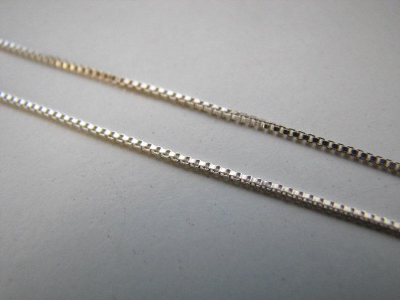 5 feet BULK Silver DIAMOND CUT Stringing CHAIN 0.8mm