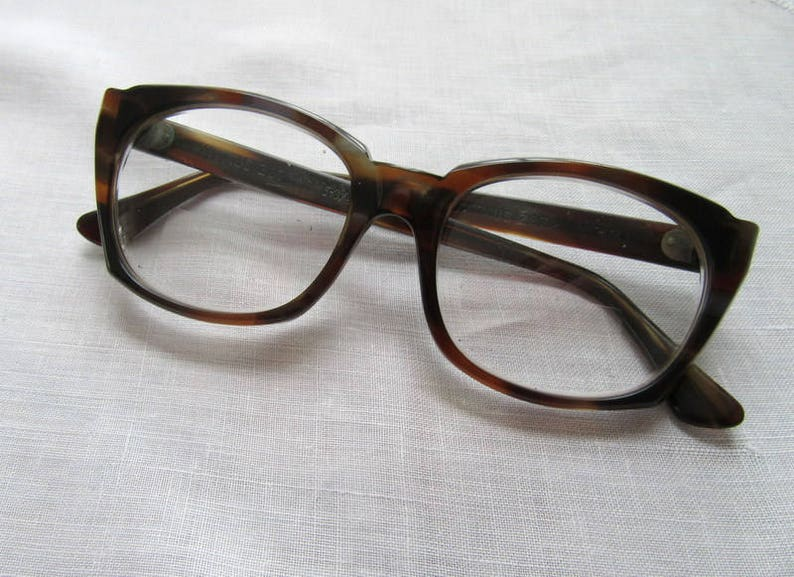 65dfb6761fb Vintage Titmus Safety Glasses Z87 Brown Tortoise Shell