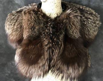 1930's fur collar