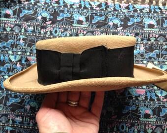 Vintage Edwardian straw hat