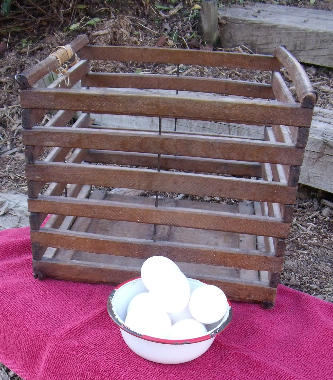 Collecting eggs & Ironstone. What I got at Christie's ...  |Egg Crate Shelving