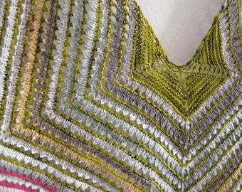 DIGITAL Knit Pattern - Ultra-Eyelet Shawl