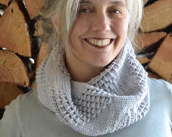 PRINT Knit Pattern - Paper Bark Cowl