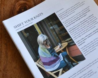 PRINT Knit Pattern - Shift Your Knits Shawl