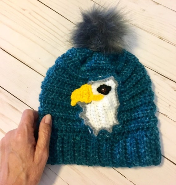 Toddler Football Hat Winter Eagles Hats American Pride Hat  fdb2a45c9e0