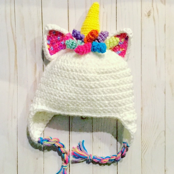 Unicorn Hats Baby Toddler unicorn Hat girls baby winter  b39dcbed017